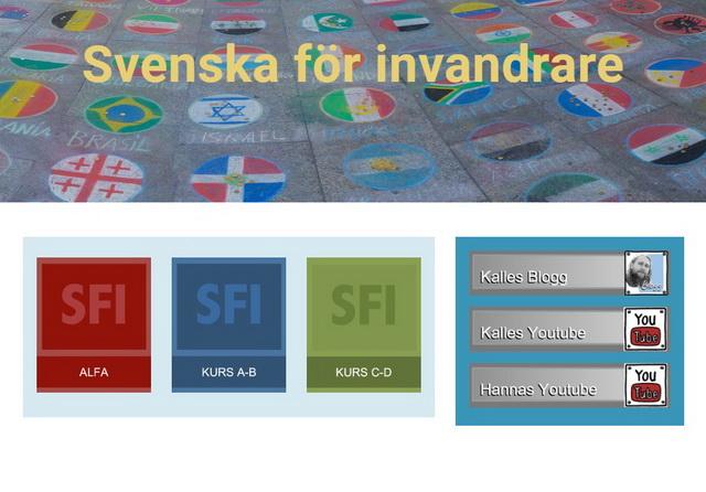 موقع هام لتعلم اللغة السويدية لعدة مراحل مع تدريبات