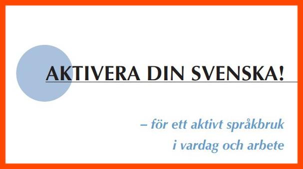 كتاب شامل يحتوي على جمل وقواعد هامة في اللغة السويدية